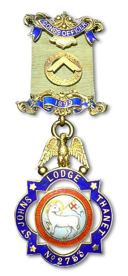 Consecrating Officers Jewel of 1899